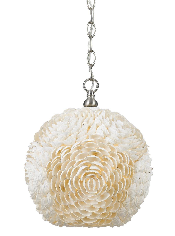 Cal Lighting FX 3573/1P One Light Sea Shell Pendant Lamp