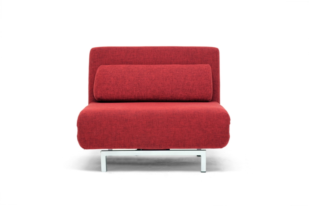 J M Contemporary Red Sofa Bed LK06RED 176016 Sleep Sofas