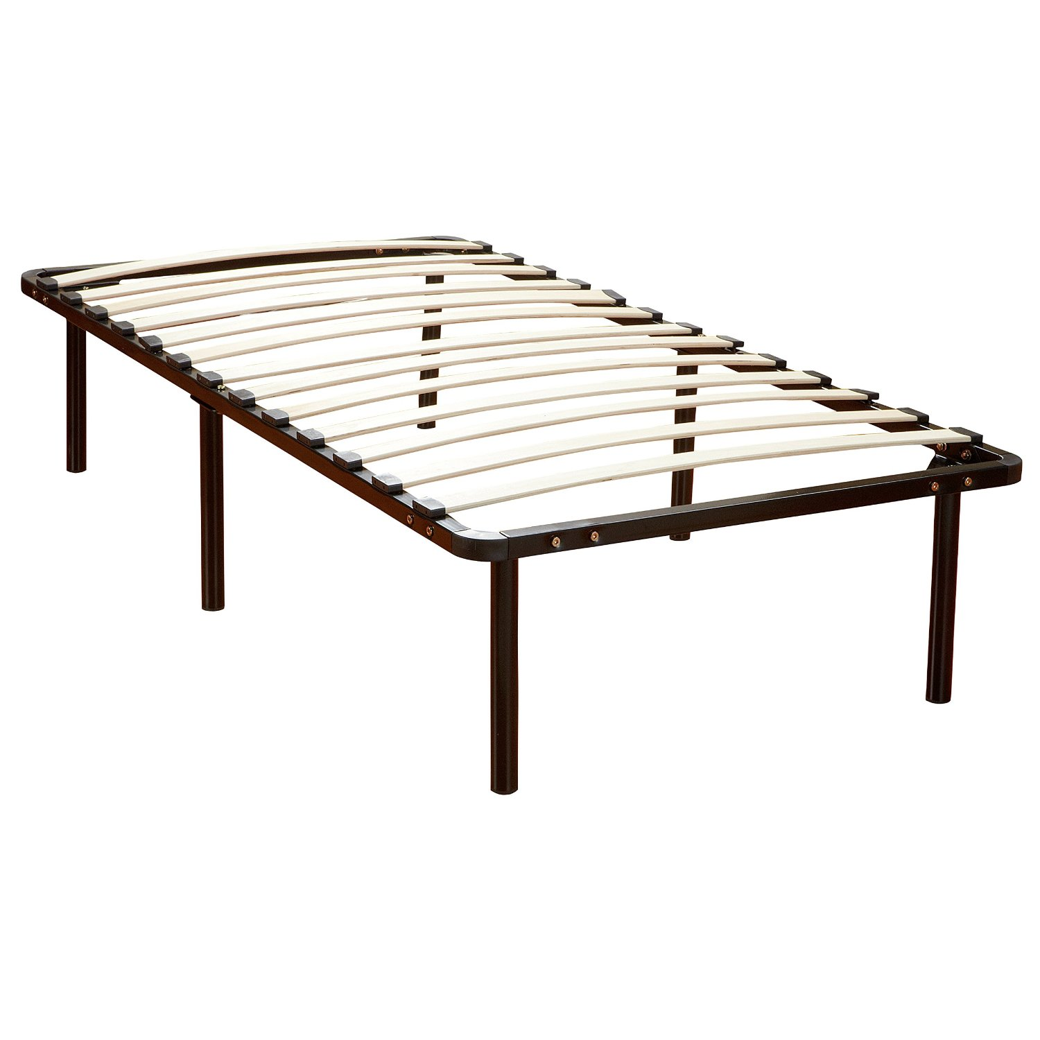 Mattress for platform bed with slats - Classic Sleep Europa Wood Slat And Metal Platform Bed Frame Mattress Foundation