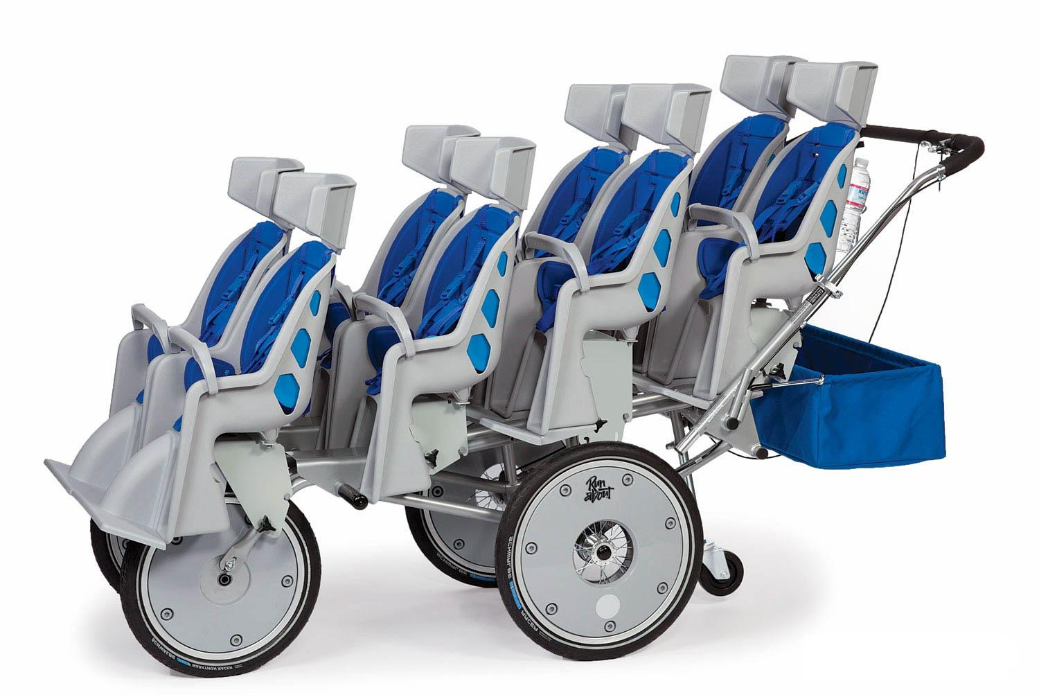 Runabout 4 X 8 Seater Stroller