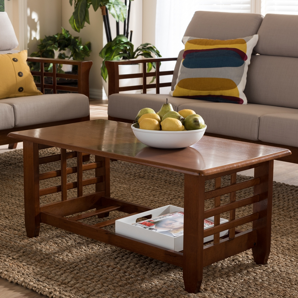 baxton studio larissa mission wooden coffee table