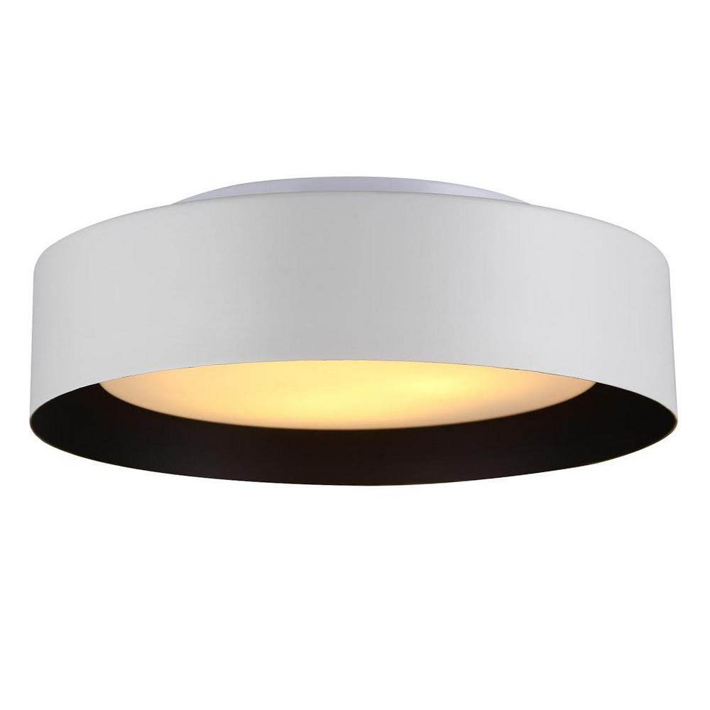 Next White Ceiling Lights : Flush mount white ceiling light