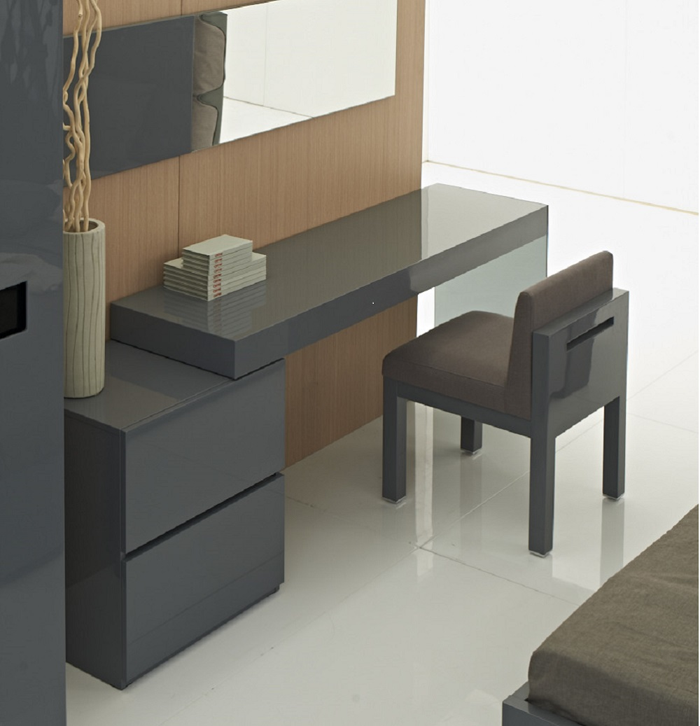 coach grey modern office desk j m furniture coach grey