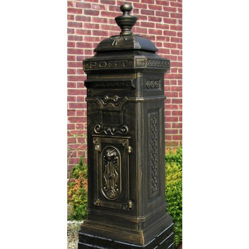 Ecco E8 Victorian Style Tower Mailbox