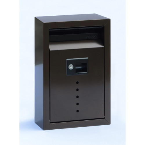 Ecco E9 Small Wall Mount Locking Mailbox