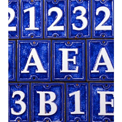 Ecco Ceramic and Glass Tiles - Cobalt Blue 4.25 High, CN/CL