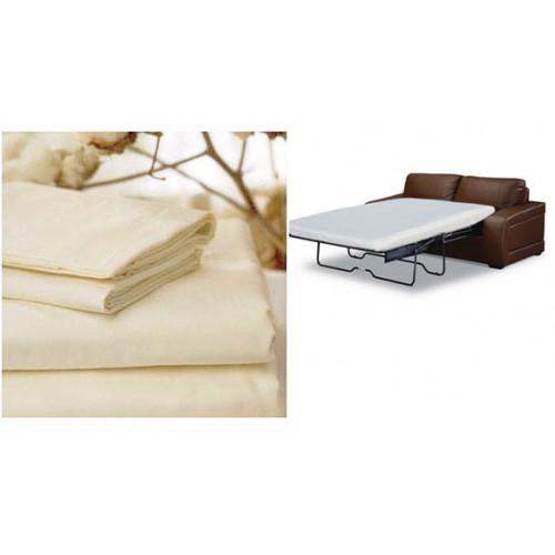 Gotcha Covered Organic Sleep Sofa 300TC Sheet Set, Queen Plus (SS3/QXL/OR)