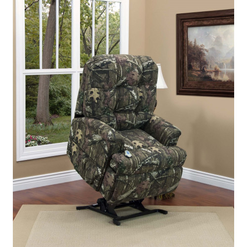 Med-Lift Power Lift Chair in Mossy Oak Fabric 5500-MO