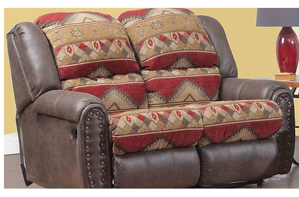 Yuma Rustic Lodge Reclining Sofa And Loveseat 153268 S L