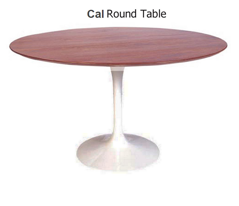 48 Inch Cal Round Dining Table American Walnut HGEM117 Dining