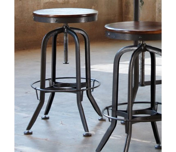 Bon Vintage Industrail Strength Bar Stool ...