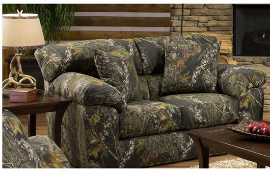 Jackson Furniture Big Game Mossy Oak Camo Sofa 3206-3 - Jackson Furniture Big Game Mossy Oak Camo Sofa 3206-3 Sofas