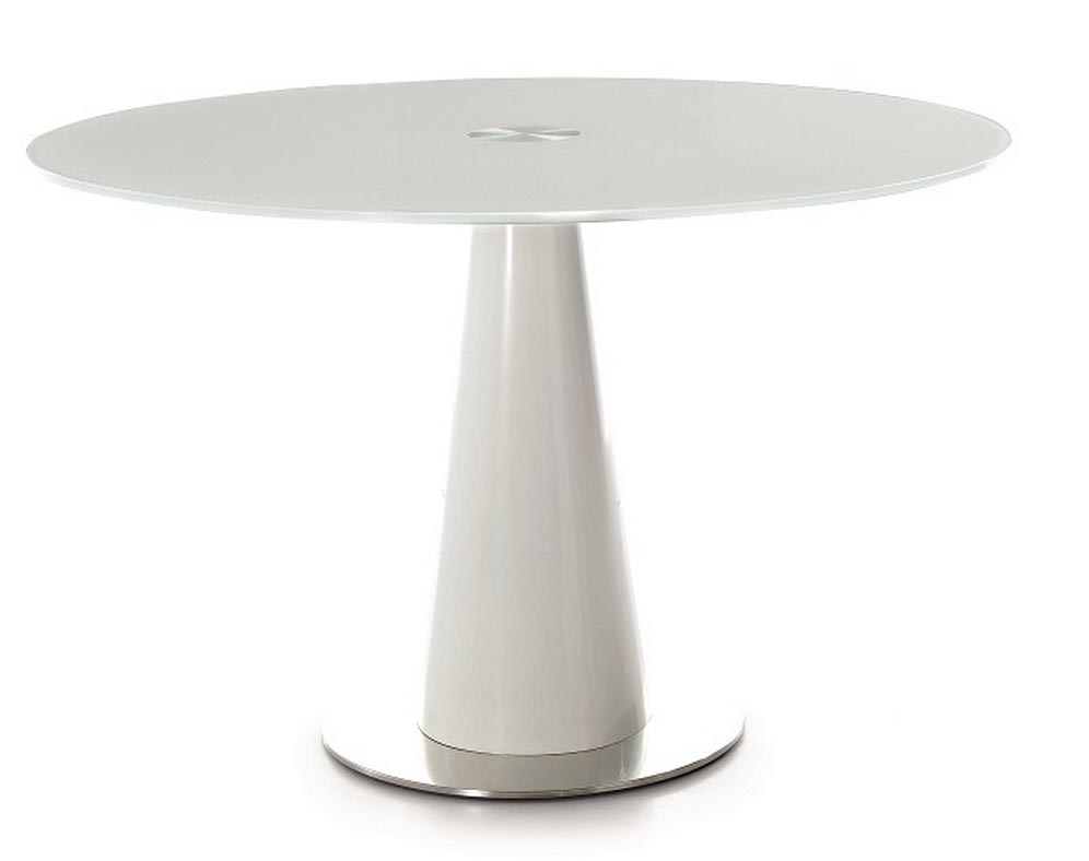 White round modern dining table for White round dining table modern