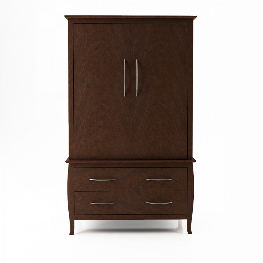 huppe nevada classic birch wood bed modern bedroom furniture